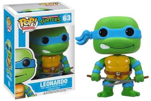 """Leonardo: ~3.7"""" Funko POP! TMNT Vinyl Figure - 1"""