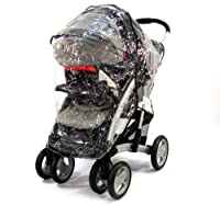 Baby Travel Raincover To Fit Quattro Tour Deluxe Travel System from Baby Travel