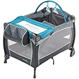 Evenflo Portable Baby Suite Deluxe Monaco, Blue, White