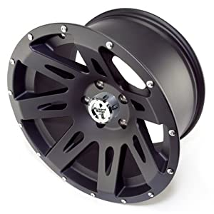 Rugged Ridge Jeep Wrangler JK Black Satin Wheel (17