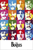 Poster The Beatles - Sea of Colours - reasonably priced poster, XXL wall poster