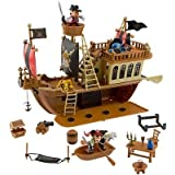 Deluxe Mickey Mouse Pirates of the Caribbean Pirate Ship Play Set [Toy]
