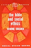 img - for The Bible and social ethics (Facet books) book / textbook / text book