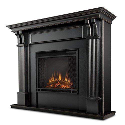 Real Flame Ashley Electric Fireplace, Blackwash image