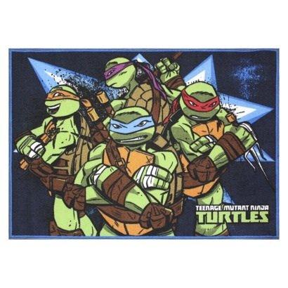 Teenage Mutant Ninja Turtles Area Rug front-1023129