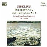 シベリウス:交響曲第2番/劇音楽「テンペスト」第1組曲(アイスランド響/サカリ)