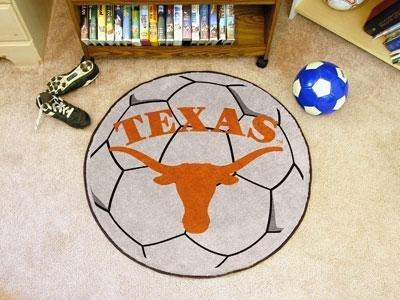 Fanmats Texas Longhorns Soccer Ball-Shaped Mats