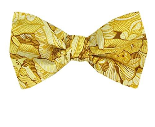 herren-tommy-bahama-seide-selbstbinden-fliege-gelb
