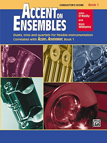 Accent on Ensembles, Bk 1: Conductor's Score, Conductor Score (Accent on Achievement)