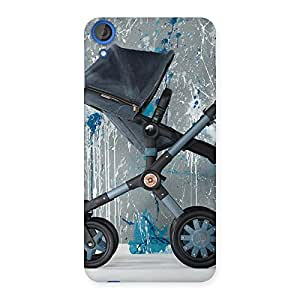 Gorgeous Denim Baby Print Back Case Cover for HTC Desire 820