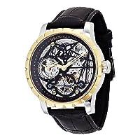 [ブルッキアーナ]BROOKIANA 腕時計 機械式  ジオメットリックスケルトン BA1674-GP メンズ