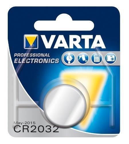 """DIE DEUTSCHE MARKE Lot de 10 piles bouton lithium """"Electronics"""" CR2032 3 Volt"""