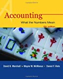 Accounting: What the Numbers Mean (0072834641) by Marshall, David