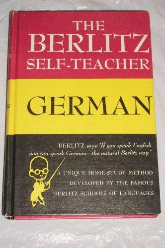 The Berlitz Self-Teacher: German, by Berlitz Schools Editorial Staff