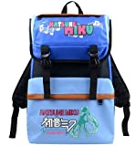 Speaking Life Attack on Titan Naruto Hatsune Miku Anime Backpack Cartoon Students Bag Travel Bag, Mountaineering Bag (3)