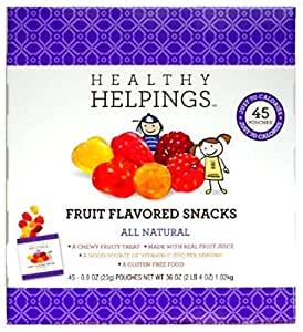 healthy helpings fruit flavored snacks tunas fruit