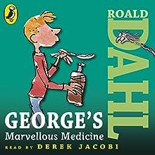 George's Marvellous Medicine Audiobook by Roald Dahl Narrated by Derek Jacobi