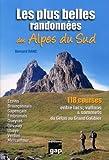 echange, troc Bernard Ranc - Les plus belles randonnées des Alpes du Sud