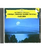 Piano Sonatas n°8, 13 & 14 : Pathétique - Clair de lune
