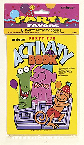 Kids Activity Book Party Favors, Assorted 8ct