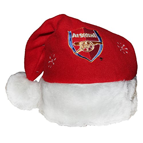 Arsenal FC Novelty Christmas Santa Hat