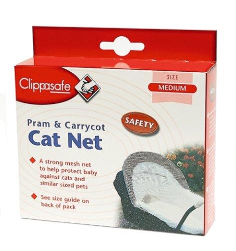 Pram & Carrycot Cat Net (medium) Cl181 By Clippasafe