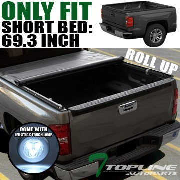 topline-autopart-roll-up-soft-tonneau-cover-jr-14-16-chevy-silverado-gmc-sierra-crew-cab-58-bed-by-t