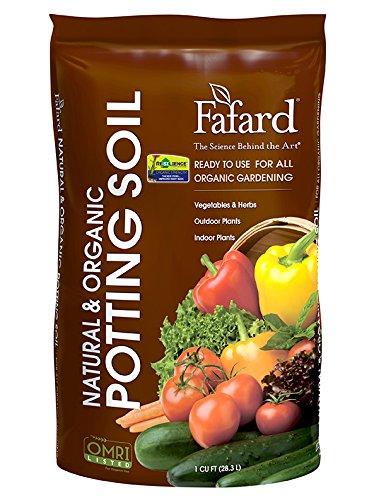 Soil Potting Nat/Organic 1cf (Fafard Potting Soil compare prices)