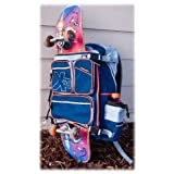Exseventy X70 Deluxe Snowboard Skateboard Backpack by Exseventy