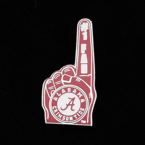 Alabama Crimson Tide #1 Fan Pin