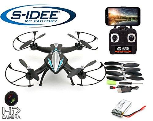 s-idee-01114-Quadcopter-45-Kanal-24-Ghz-Quadrocopter-RC-ferngesteuerter-HubschrauberHelikopterHeli-mit-GYROSCOPE-TECHNIK-24Ghz-TECHNOLOGIE-fr-INNEN-und-AUSSEN-brandneu-mit-eingebautem-GYRO-und-24-GHz-