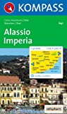 Kompass Karten, Alassio, Imperia: Wander- und Bikekarte. Carta escursioni e bike Picture