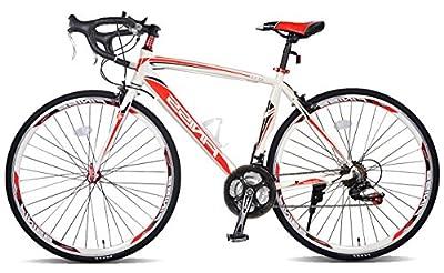 Merax Finiss Aluminum 21 Speed 700C Road Bike Racing Bicycle Shimano