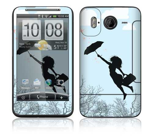 Modern Super Woman Decorative Skin Cover Decal Sticker for HTC Inspire 4G Cell Phone