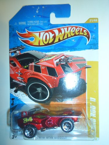 HOT WHEELS 2010 METALLIC RED STING ROD II NEW MODELS 21/44 - 21/240 *METALLIC RED* - 1