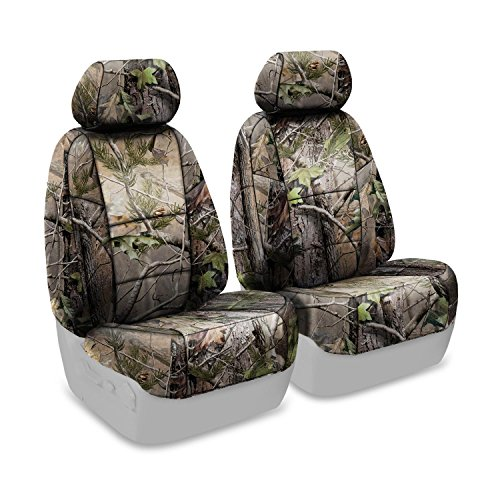VW TOURAN 16 on CAMOUFLAGE FRONT PAIR CAR SEAT COVER SET CAMO