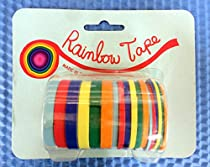 Rainbow Tape Acid Free Masking Tape -18 Roll Pack