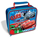 Childrens/Kids Boys Disney Cars 2 Lunch Box/Bag (25cm x 22cm) (Red/Blue)