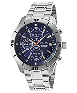 Seiko Men's Stainless Steel Quartz Watch SKS399P1