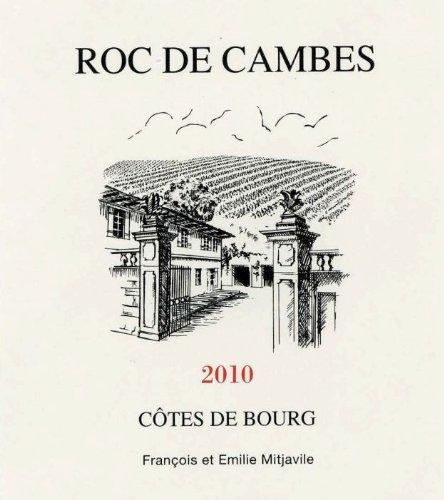 2010 Château Roc De Cambes, Côtes De Bourg 750 Ml