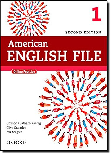 American English File 2E 1 Student Book: With Online Practice