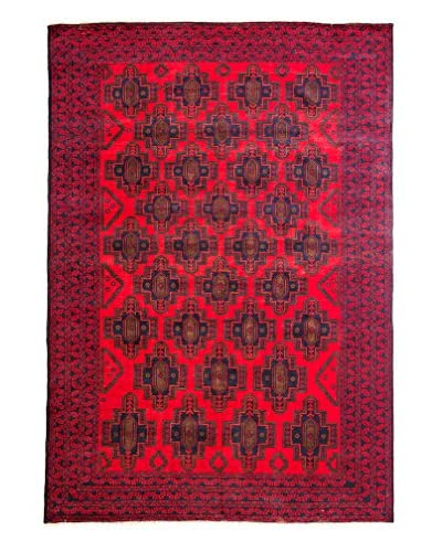 Tribal Collection Oriental Rug, Red, 6' 8 x 9' 7