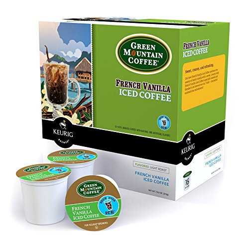 Keurig Green Mountain French Vanilla Iced Coffee K-Cups - 96 pk.