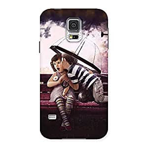 Delighted Kid Kiss Back Case Cover for Samsung Galaxy S5
