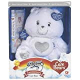 - Care Bears 25th Anniversary White Care Bear W. Swarovski Crystal Eyes & Sterling Silver Accents