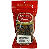 Spicy World Star Anise Seeds (Badayan) 7oz