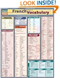 French Vocabulary (Quickstudy: Academic)