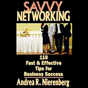 Savvy Networking Audiobook