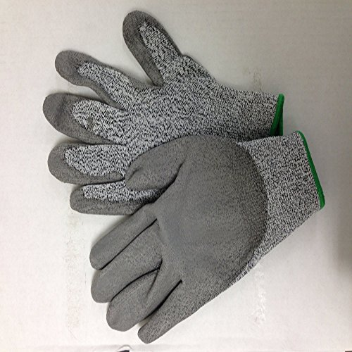 Cut Resistant Glove Is Made Of Ultra-High Molecular Pe For Well Preventing From Knife Injury Of Food Preparation, Cutting Metal, Lab & Professional Performance. Water Proof, Good Flexibility & Durable, Be Comfortable To Wear - 10 Pairs