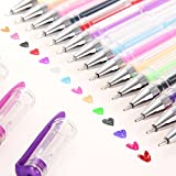 Ohuhu 60 Color Gel Pens Set Drawing Pens for Coloring Book, Sketching, Drawing, Painting and Writing